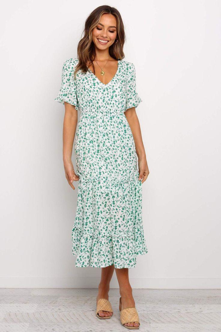 Maldives Dress - Green -   17 dress Green vintage ideas