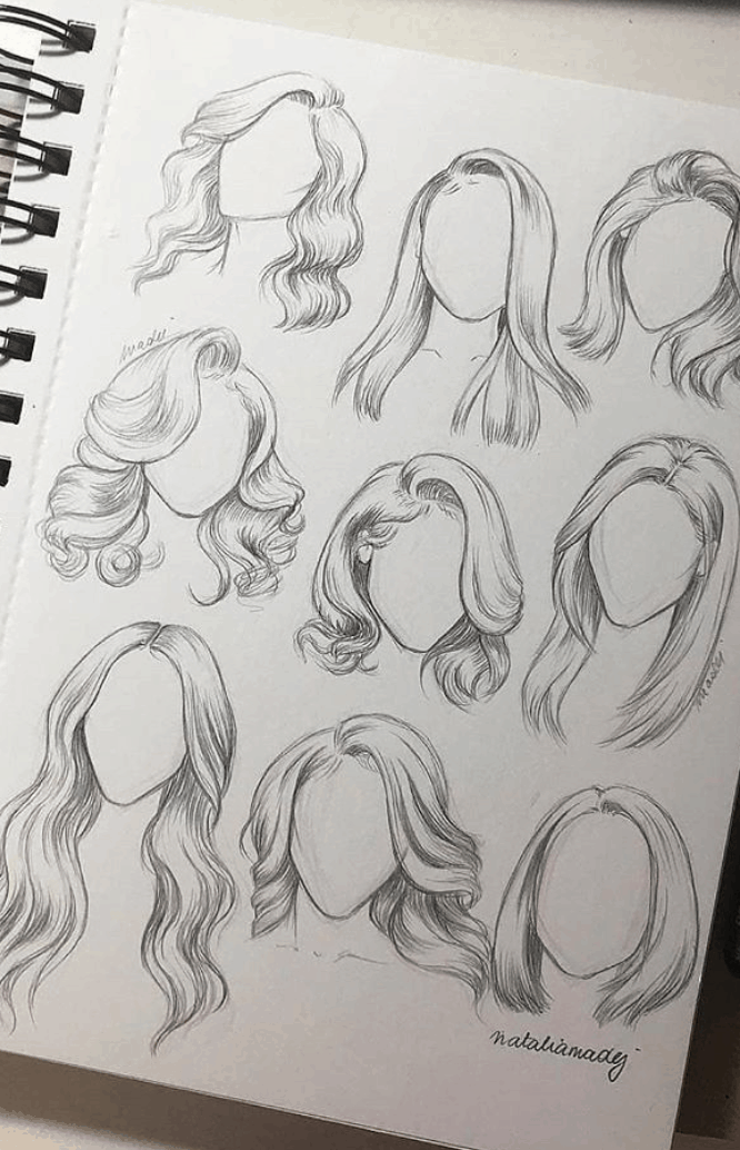 Photo of How to Draw Realistic Hair in Pencil