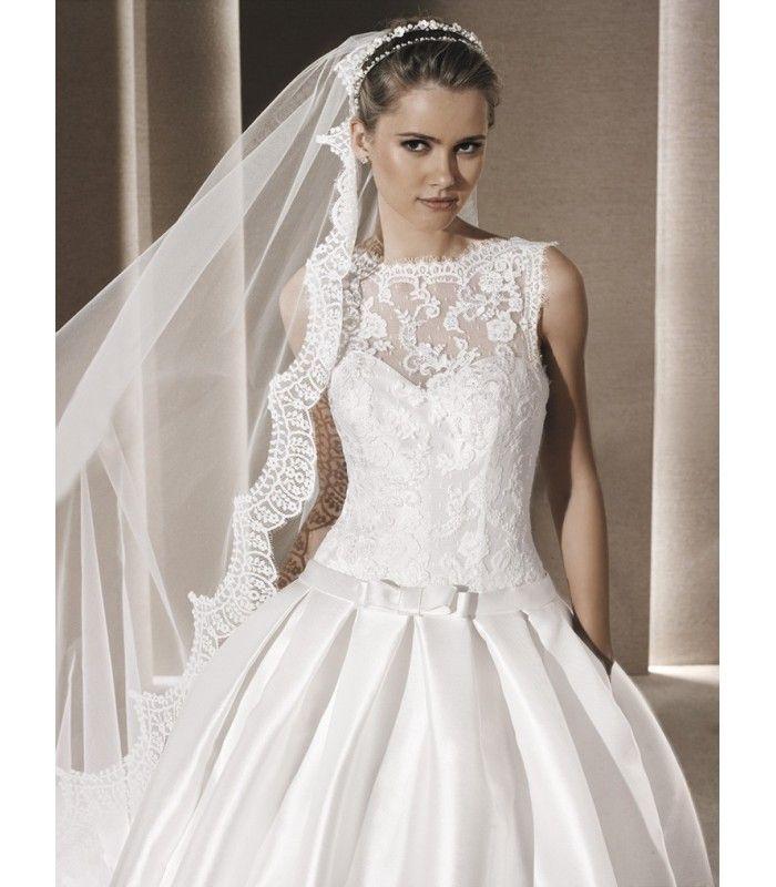 Vestido de novia Rosalia