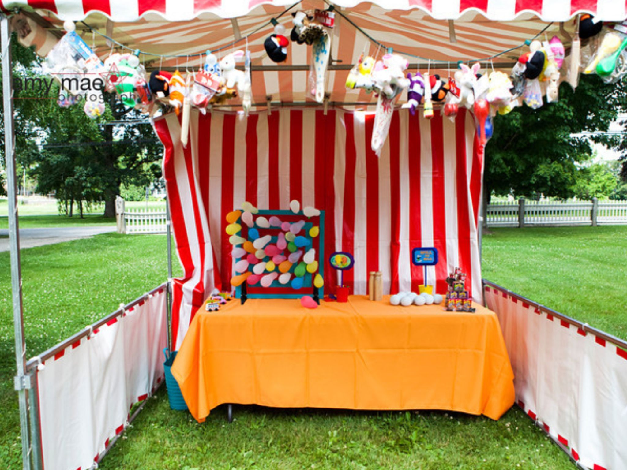 Game Tent Prizes On Display Carnival Wedding Pinterest More Tents Carnival Wedding And
