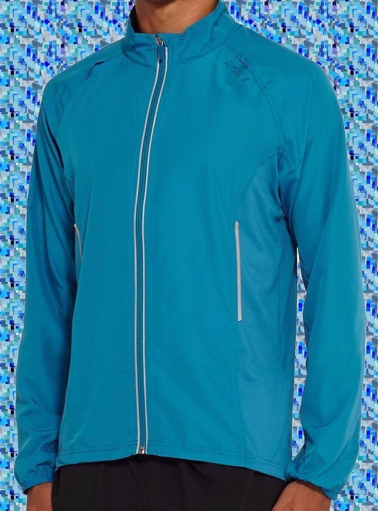 b90bf5cc UEC 2XU Men's Hyoptik Jacket, Cerulean Blue, XX-Large 360° reflectivity  VAPOR+ #2XU #RunningJacket