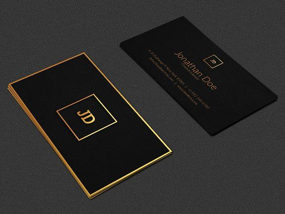 Luxury business card pinterest luxury business cards business luxury business card by ninjas on creativemarket colourmoves