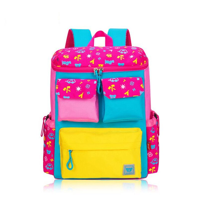 c40db14c6ae7 Brand New Orthopedic Children School Bags For Boys Girls Fashion Nylon Child  Backpack Kids Bag Large