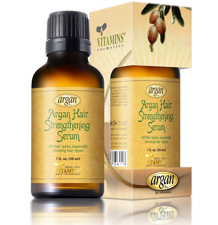 Argan Oil Hair Strengthening Serum Unique Herbal Oils