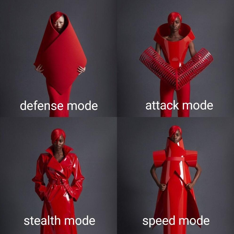 The Four Forms of Dressoxys, the Fashionista Shapeshifter Laugh, Humour, Amusing, Lol, Relatable, Star Wars, Humor, Pokemon, Marvel