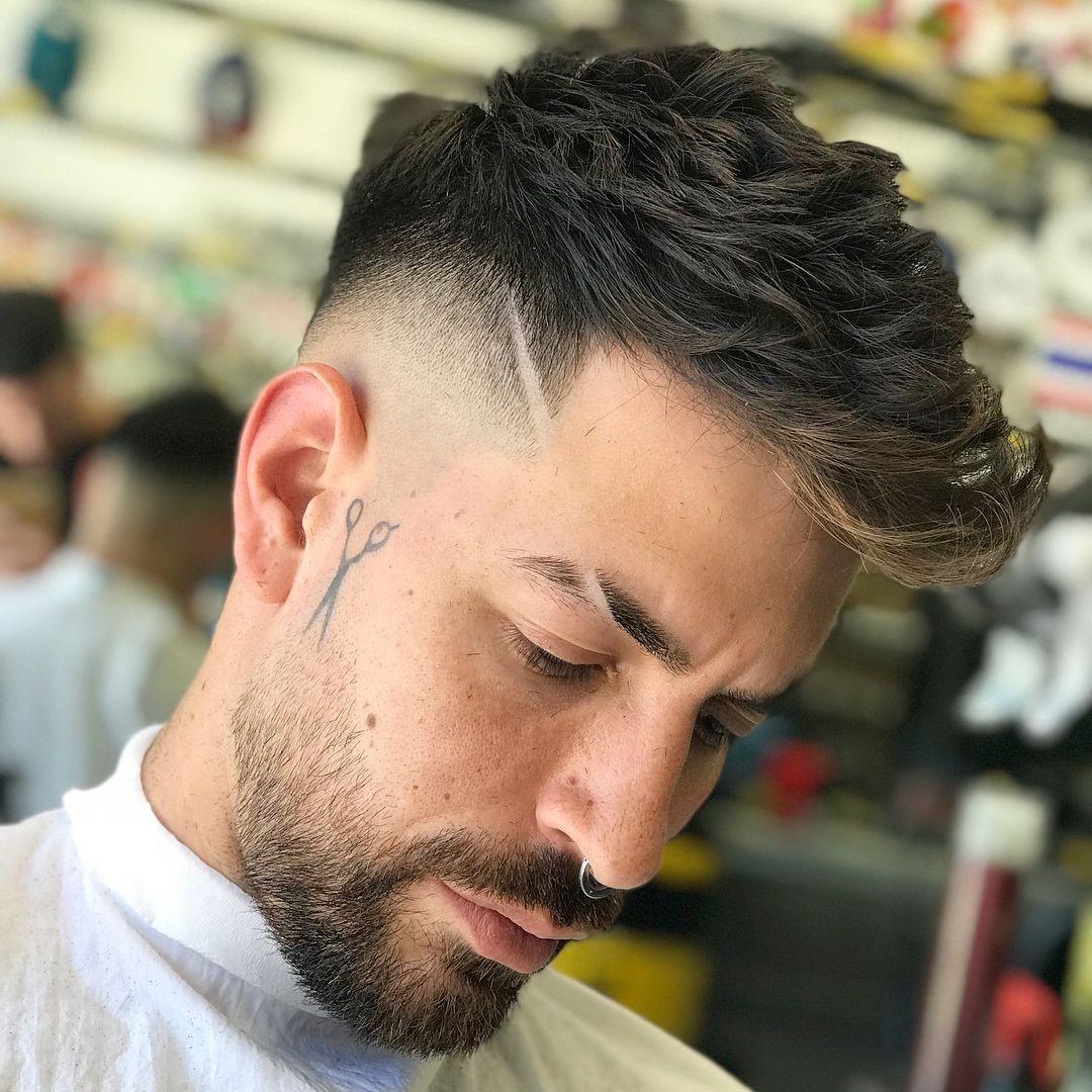 Eyebrow Cut Man Style