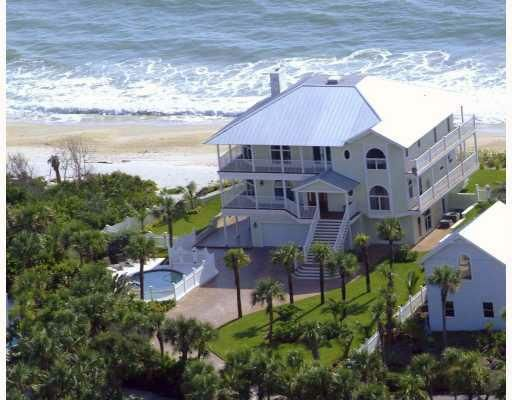 "Big Nice House On The Beach waterfront homes"" for sale vero beach florida 