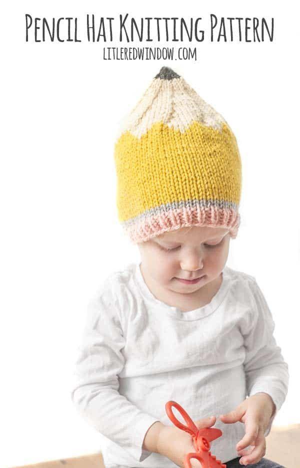 Pencil Hat Knitting Pattern | Gorritos Tejidos. | Pinterest ...