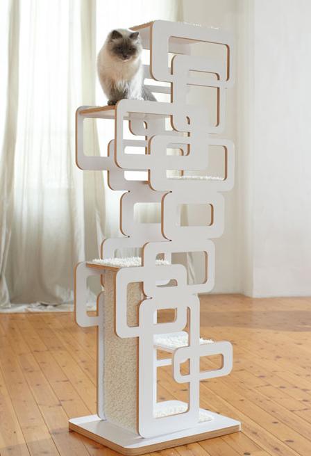 Wohnblock Cat Tree- Retro