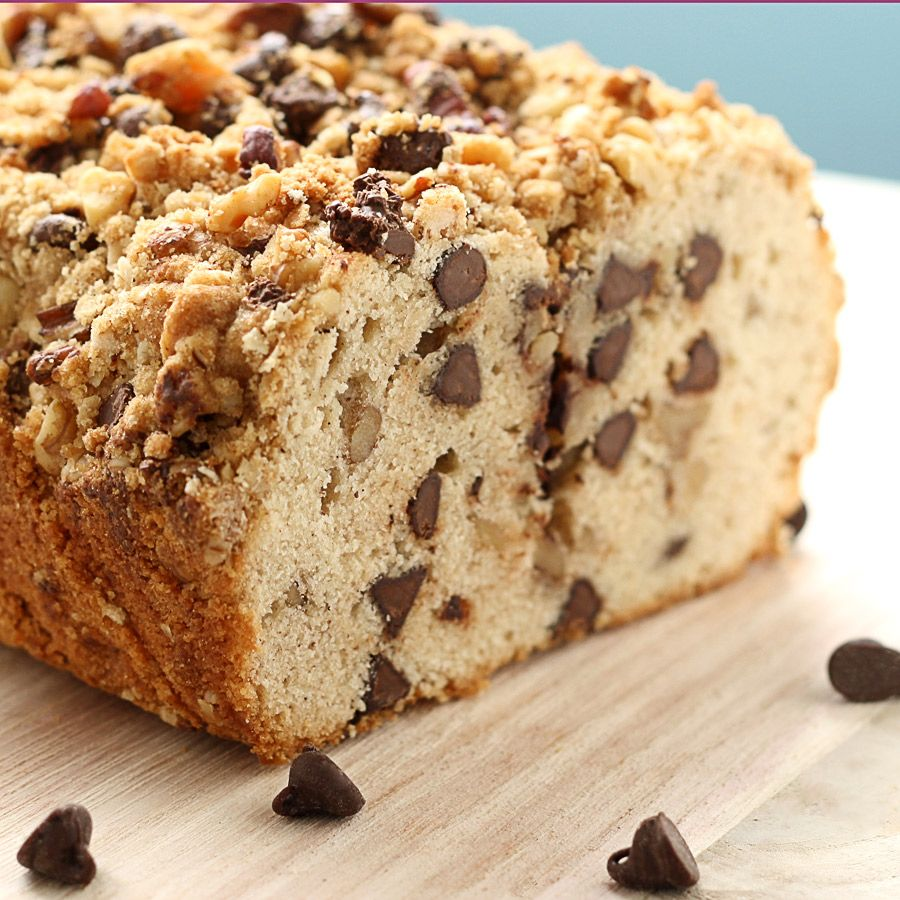 Chocolate Chip Streusel Bread