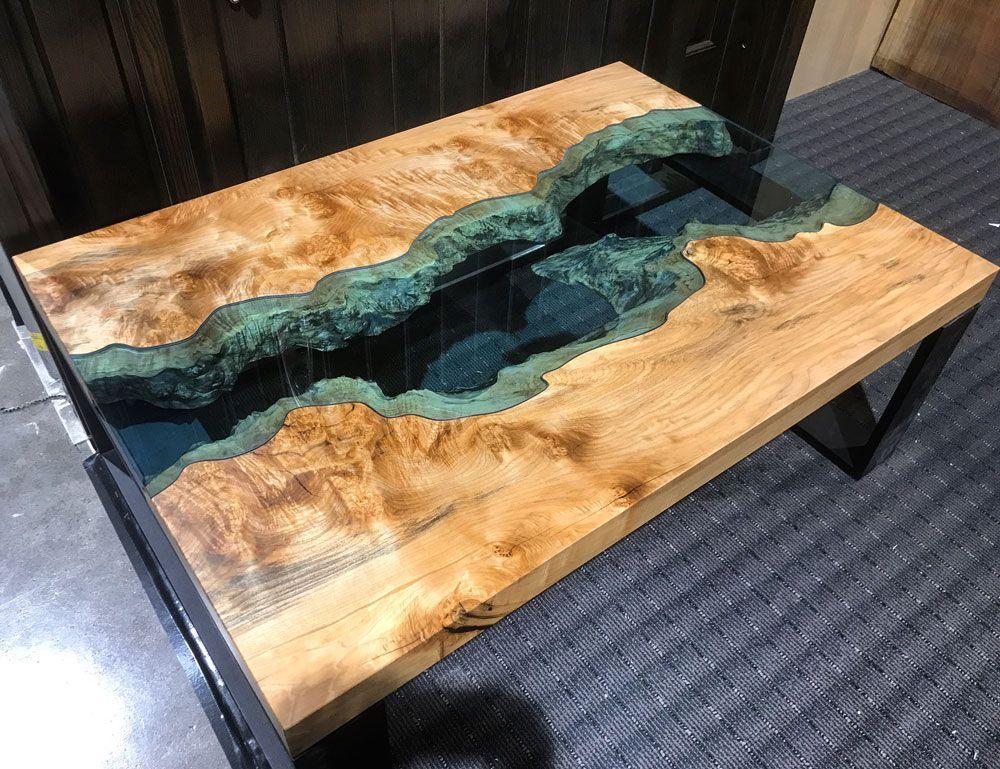 Approx 46 wood resin table diy resin table wood table diy