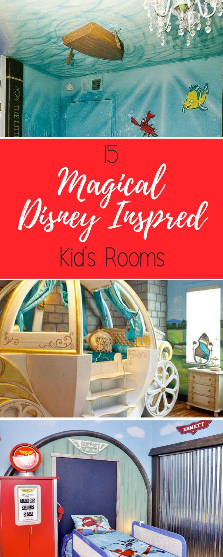 15 Magical Disney Inspired Bedrooms images