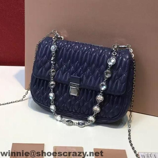 bcc6fa641e8 MiuMiu Nappa Leather Shoulder Bag RT0636   MIUMIU   Shoulder Bag ...
