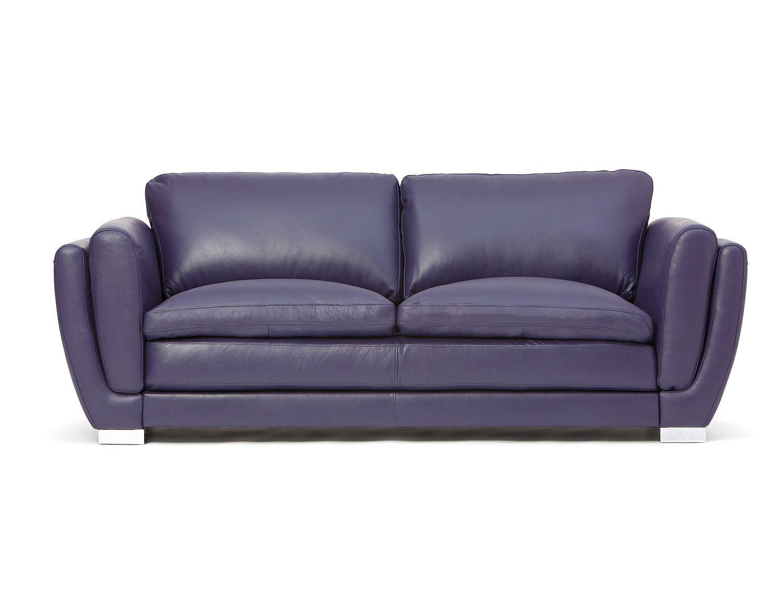 Full Leather Sofa Mezza Purple Items For My Purple