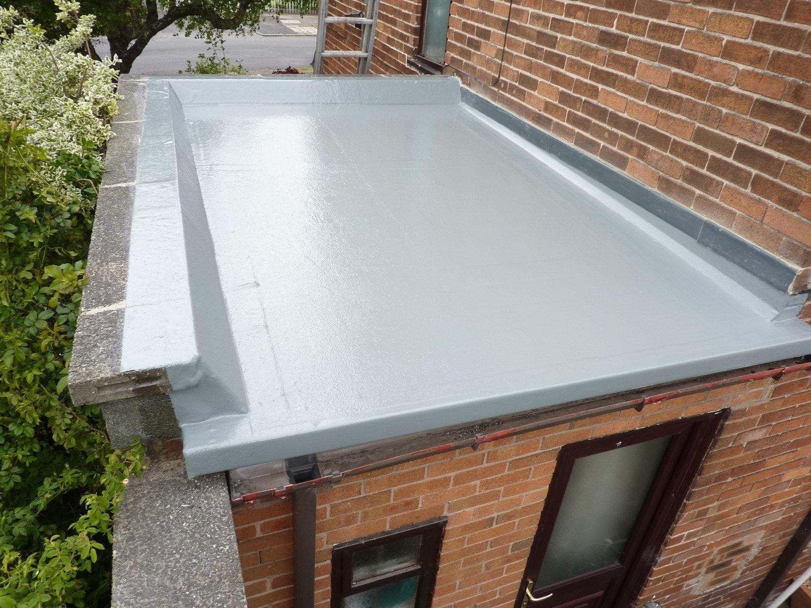 Fiberglass Flat Roofing Systems In 2020 Fibreglass Flat Roof Roof Cost Roofing Systems