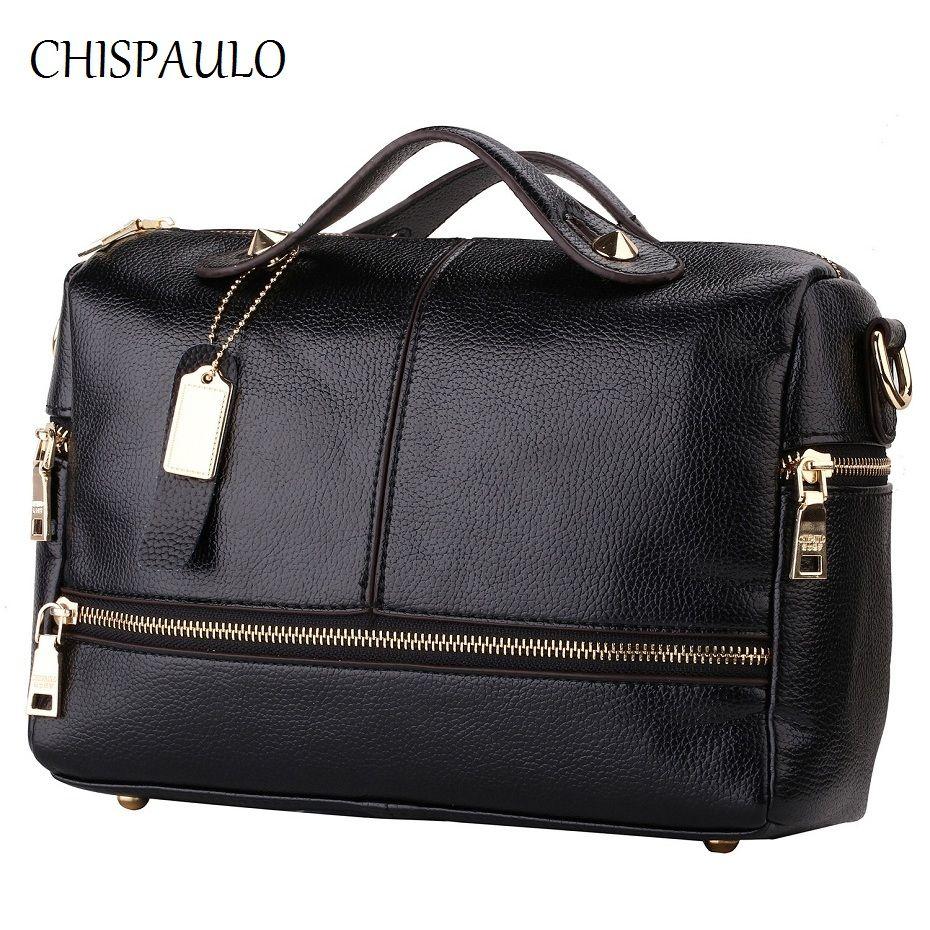 Luxury Brand Handbags Women Bags Designer Genuine Leather Bags For Women  2017 Messenger Bags Casual Ladies 0580fd0149