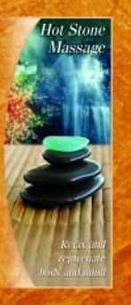 Hot Stone Massage Brochure Template  A Marketing Brochure For