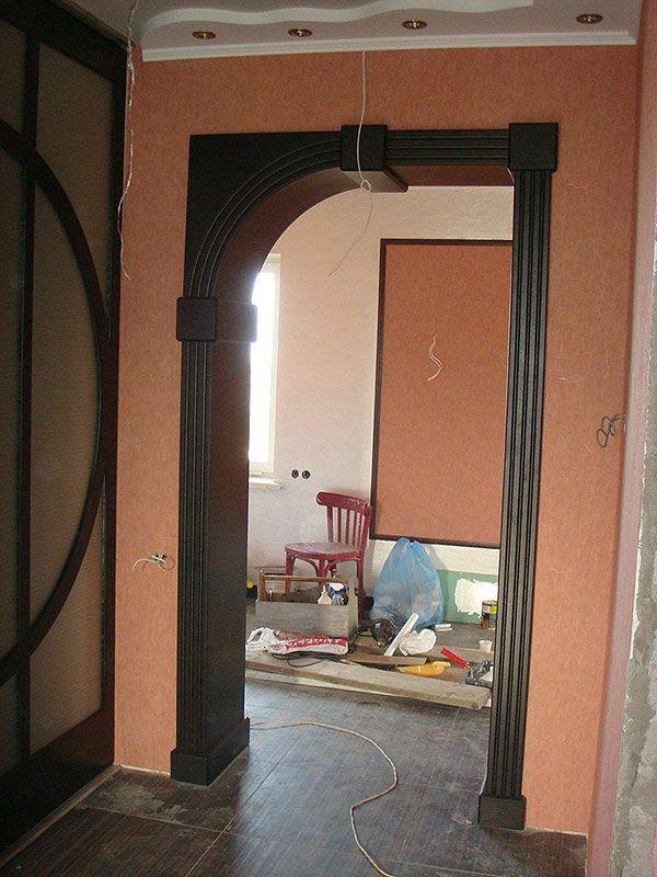 проект дверных арок фото как