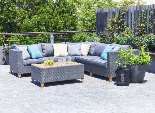 Zestaw Wypoczyn Ebbeskov Modul 5 Siedz Jysk Garden Furniture Outdoor Furniture Outdoor Sectional
