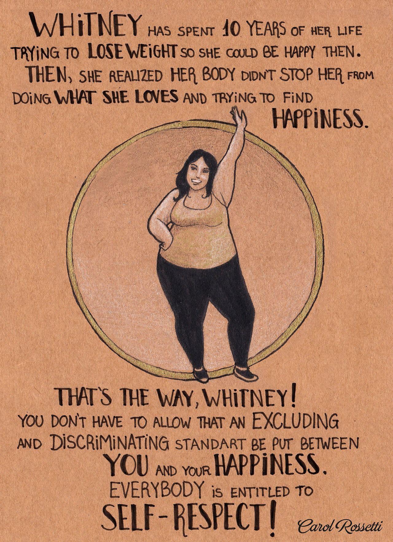 Carol Rossetti Body Positivity Feminism Body Love