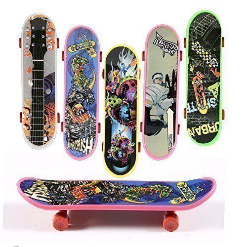ONEDONE Mini Finger Skateboard Toy Boy Kids Children Gift -8Pack (Random Pattern) ONEDONE http://www.amazon.com/dp/B013FI5I4G/ref=cm_sw_r_pi_dp_1LOSwb0WCSK29