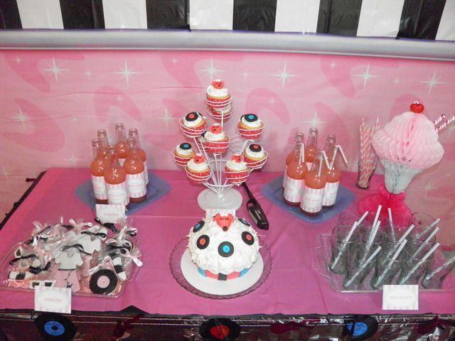 sock hop party ideas | ... 31 50u0027s Sock Hop / Birthday  Karsynu0027s Dance Party  | Catch My Party & 50u0027s Sock Hop Birthday Party Ideas | Sock hop party Birthdays and ...