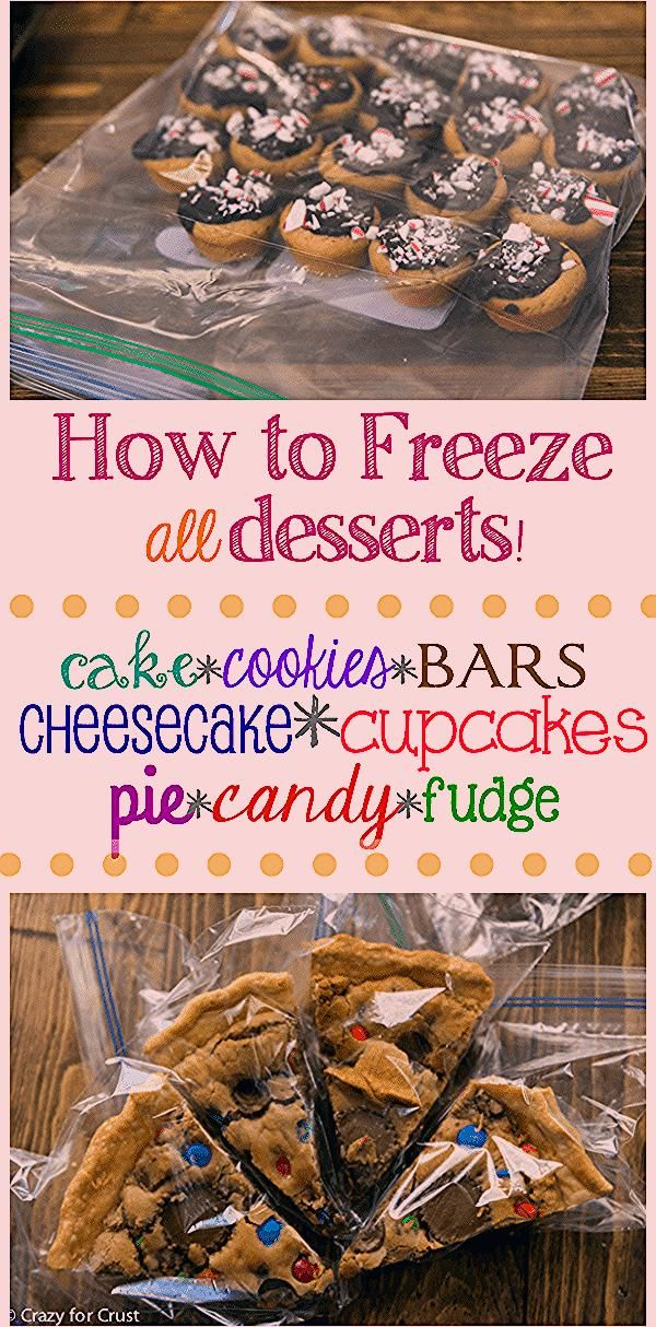 Photo of Learn How to Freeze Desserts easily – Crazy for Crust