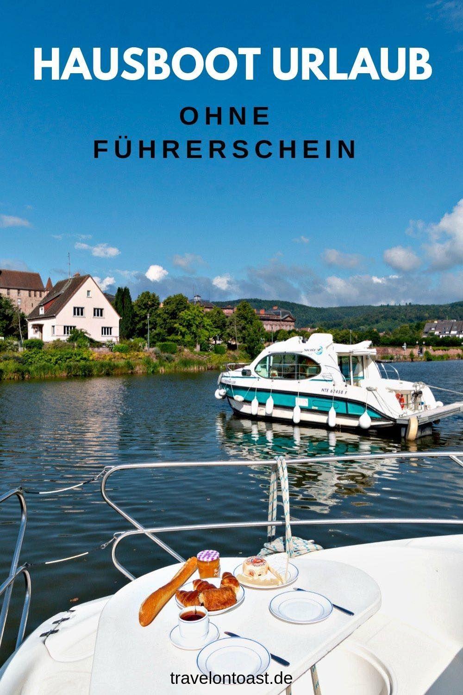 Hausboot Urlaub mit Hund – kein Führerschein nötig – Travel on Toast
