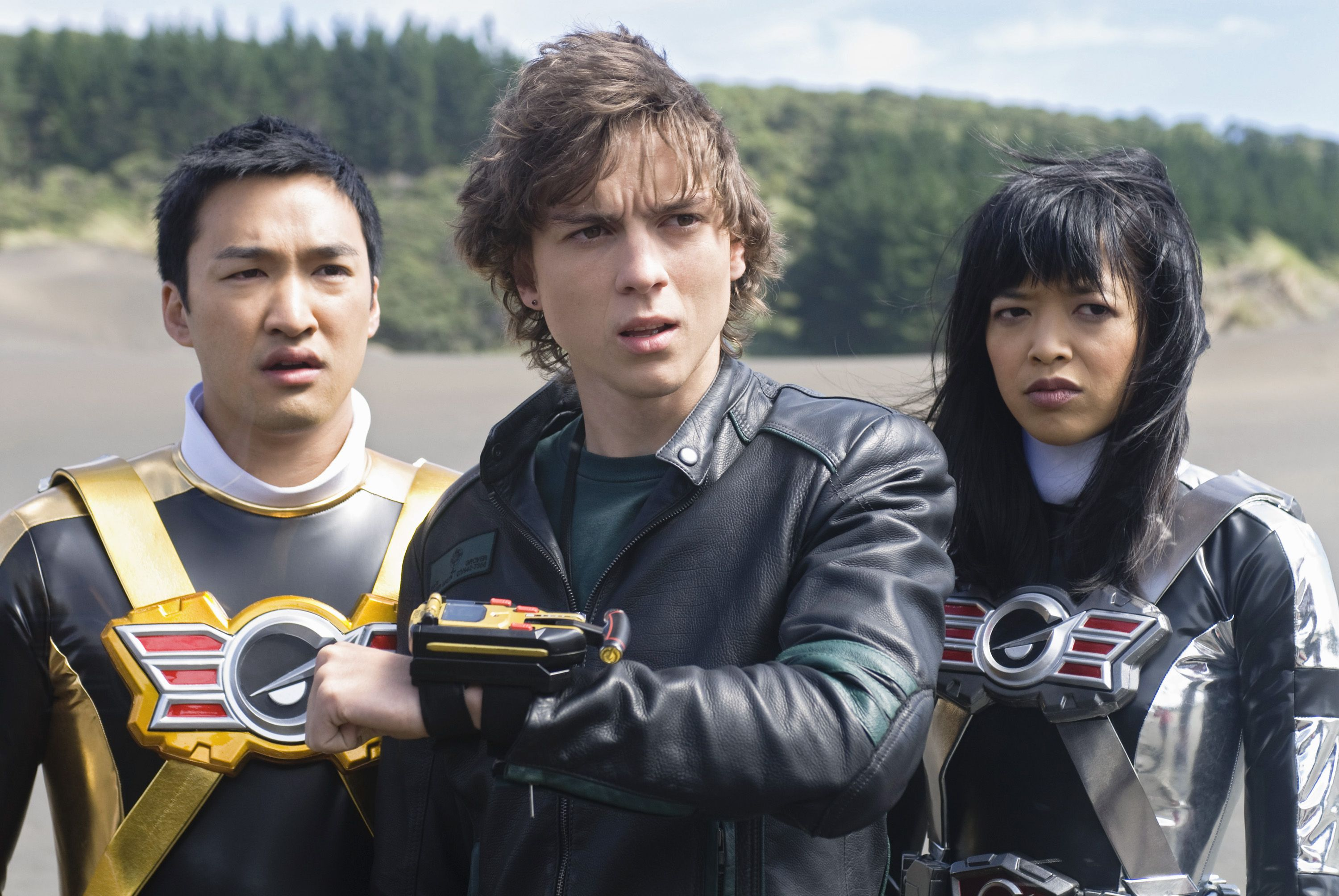 Ziggy #RPM #GreenRanger w/ Gem & Gemma #GoldRanger # ...