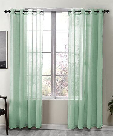 11 99 Marked Down From 149 99 Sea Foam Kendall Curtain