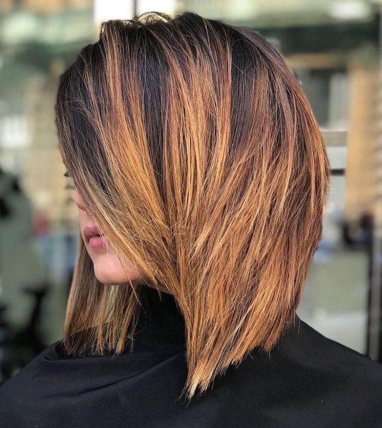 46+ Best haircuts for thick straight hair inspirations