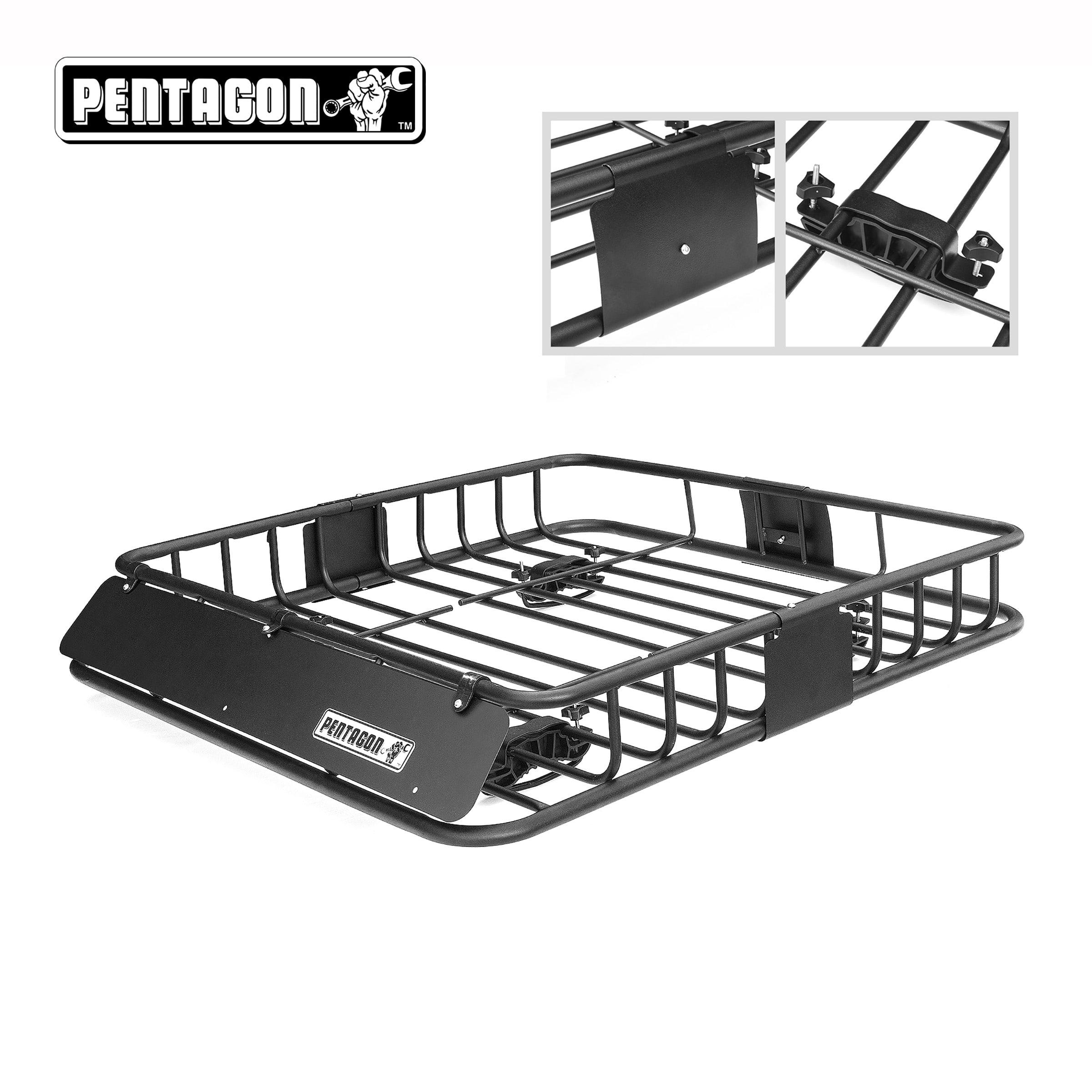 Pentagon Tools Car Top Cargo Basket Automobile Rack Car Racks