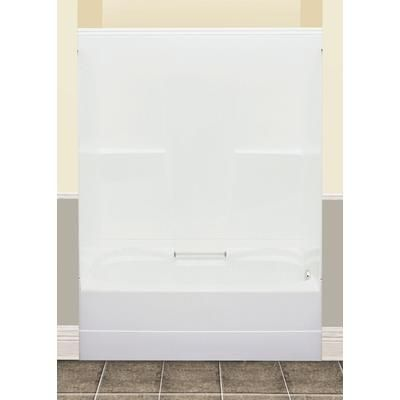 MAAX   tub shower   2 pieces right hand drain     Home Depot CanadaMAAX   FW64S tub shower   2 pieces right hand drain   140036 000  . Maax Tub Shower Combo. Home Design Ideas