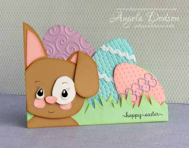 handmade easter bunny cards - Google Search Easter cards - sample easter postcard template