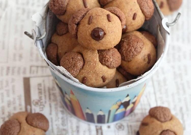 Resep Milo Doggies Cookies Oleh Fridajoincoffee Resep Resep Kue Kue Kering Kue