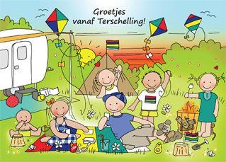 terschelling camping kamperen