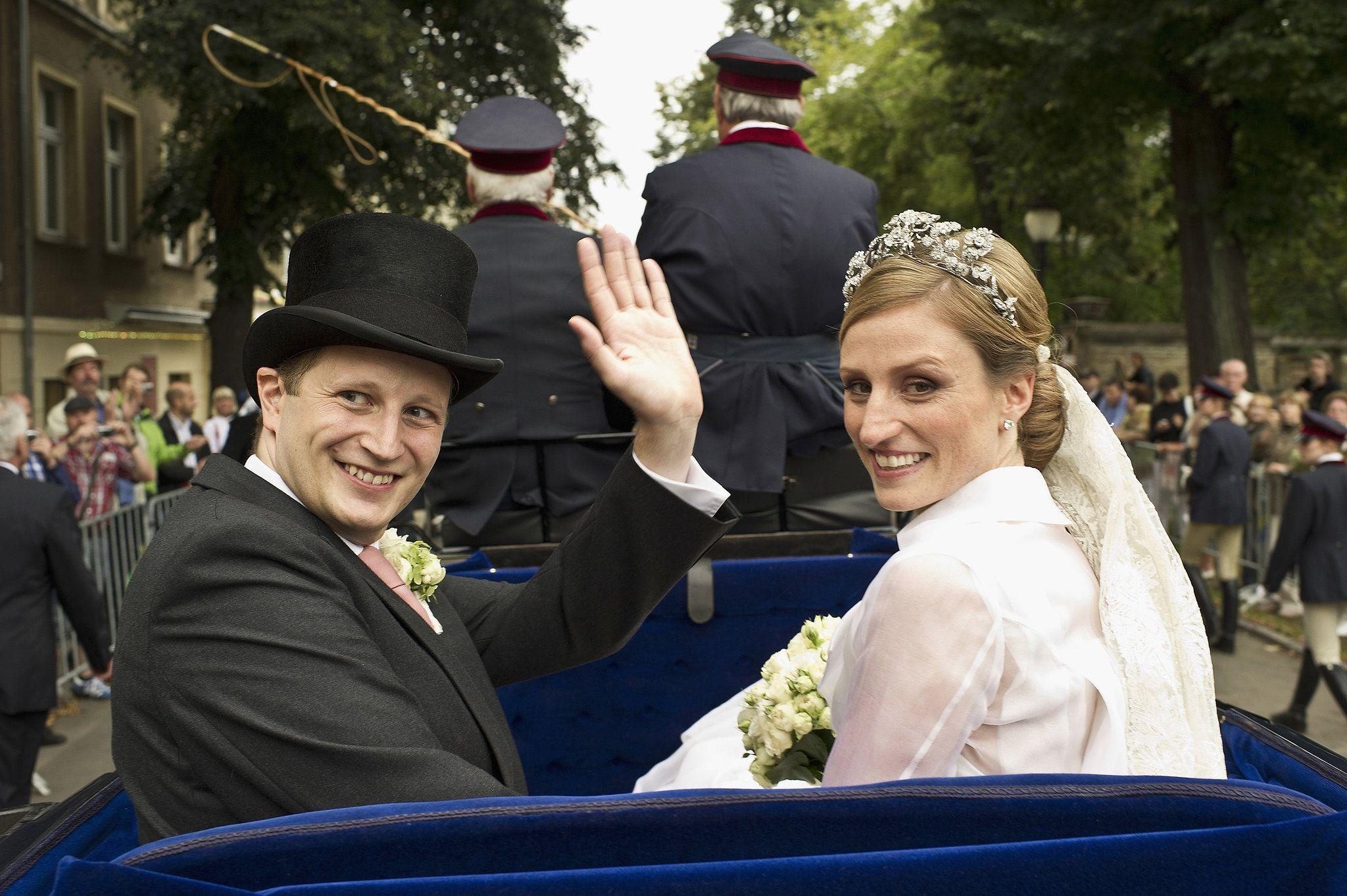Prince Georg And Princess Sophie Royale Hochzeiten Friedenskirche Potsdam Hochzeit