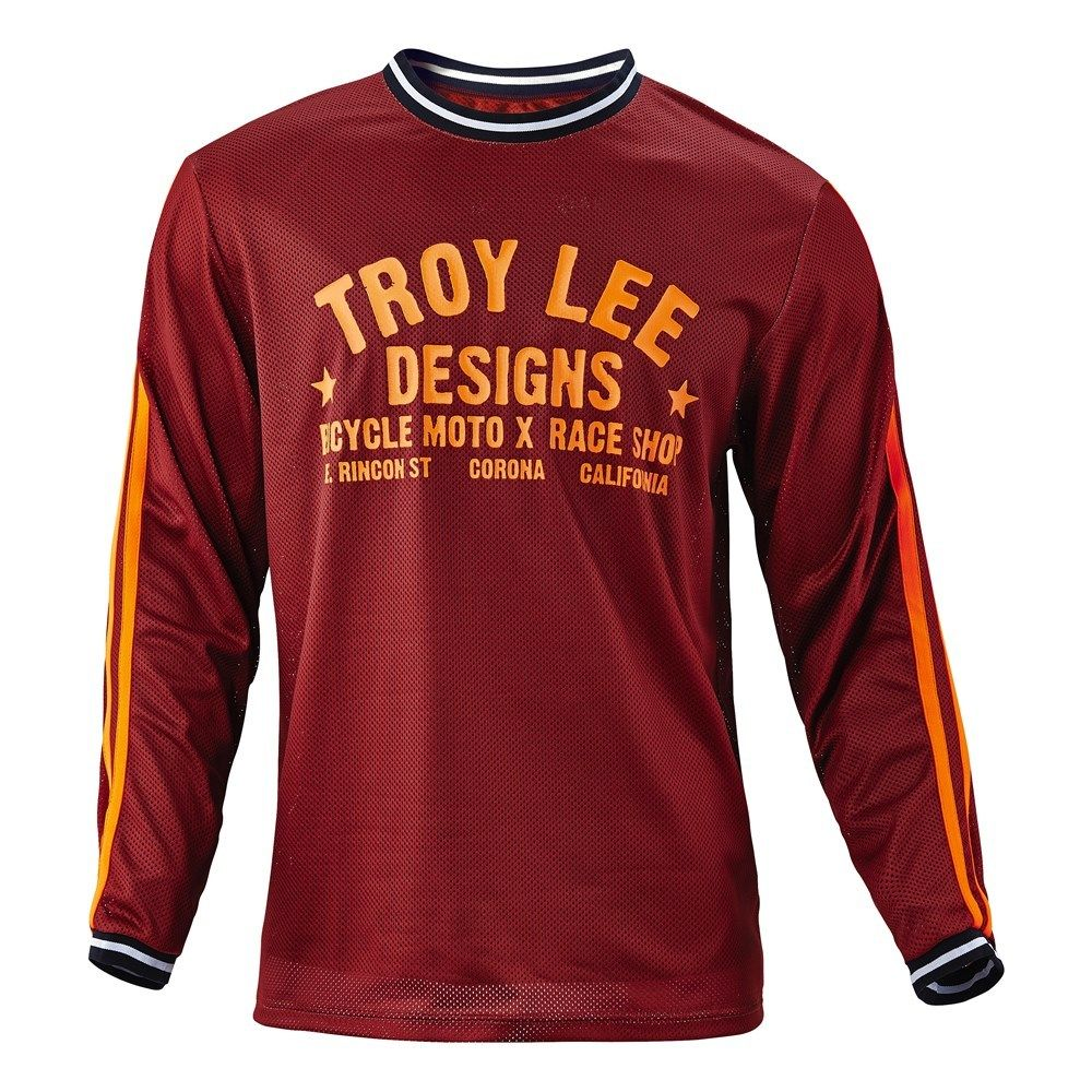 Troy Lee Designs Super Retro Maroon Jersey  77905402e