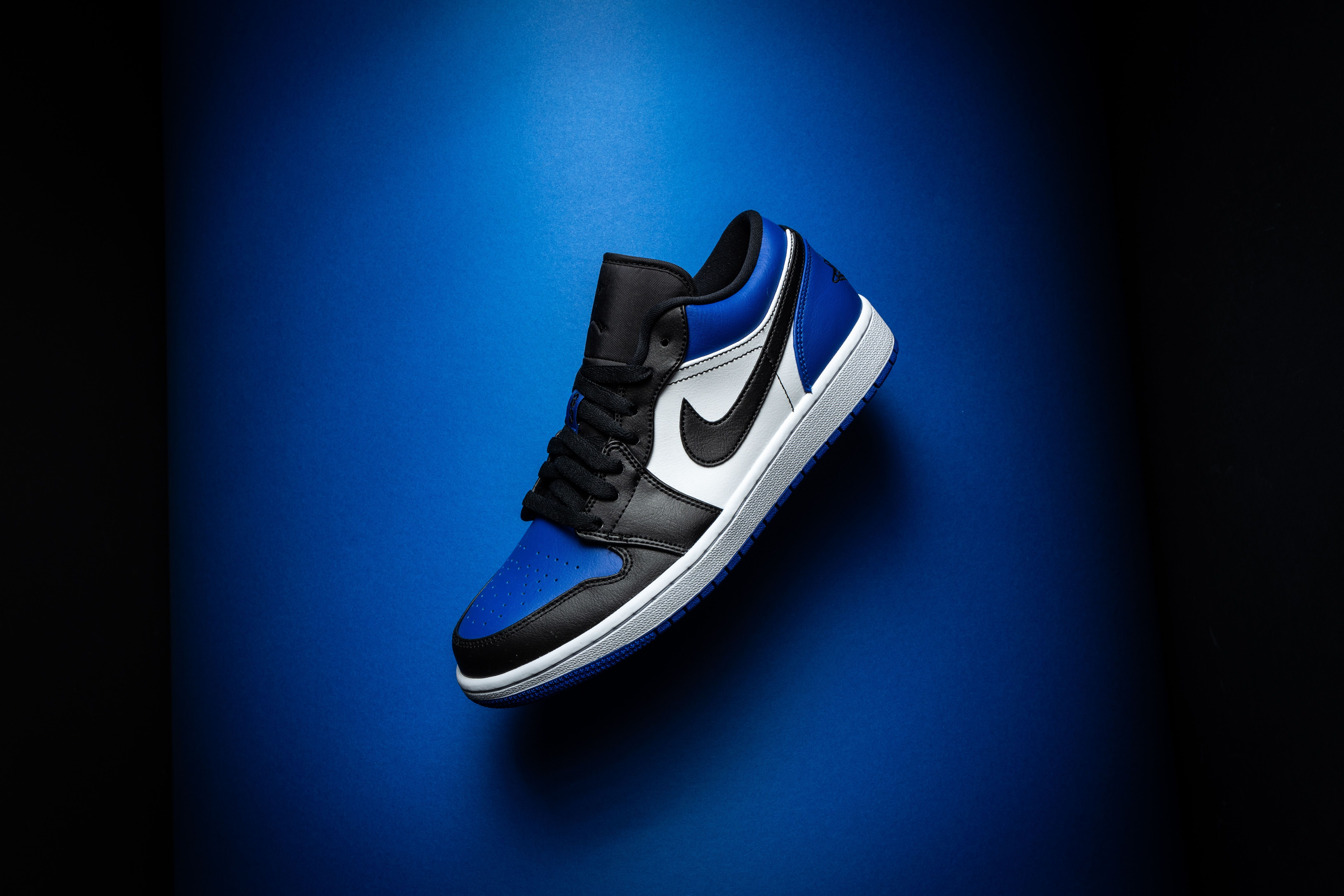 Air Jordan 1 Low Royal Toe Cq9446 400 2020 With Images