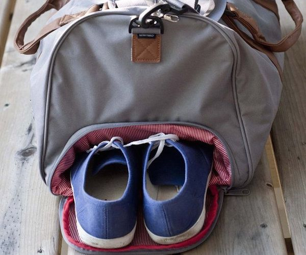 Herschel bags are renowned for their detailing and the Novel Duffle Bag by Herschel  Supply Co. is not an exception. 1c5ed0c98aa4b