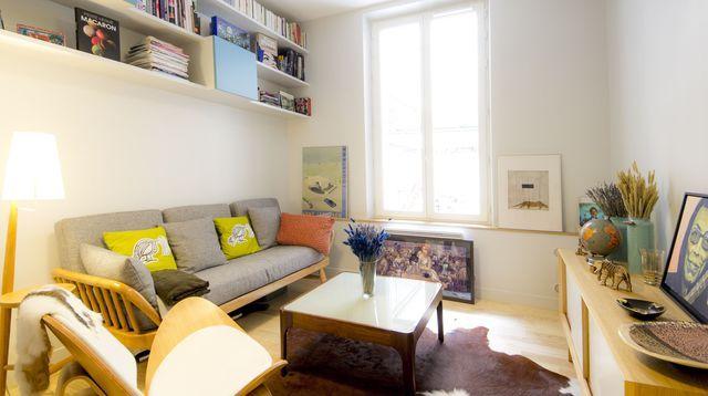 Un appart de 36 m2 restructuré et relooké pour 40 000 euros Little