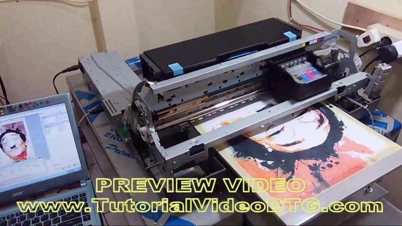 Cara Merakit Printer Kertas Menjadi Printer Dtg Kertas