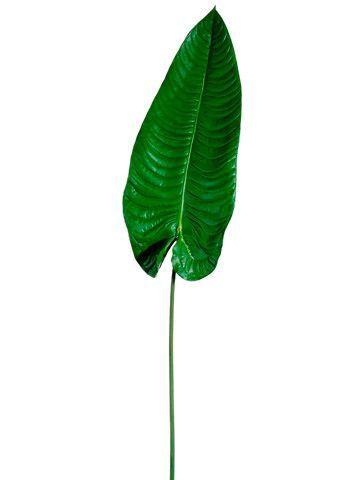 Large Faux Tropical Elephant Ear Leaf Spray in Green - 49 #elephantearsandtropicals Large Green Elephant Ear Faux Leaf #elephantearsandtropicals