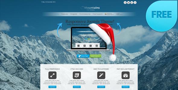 Responsive free joomla 3, 3.1, 3.2 template: a4joomla lakeside3R ...