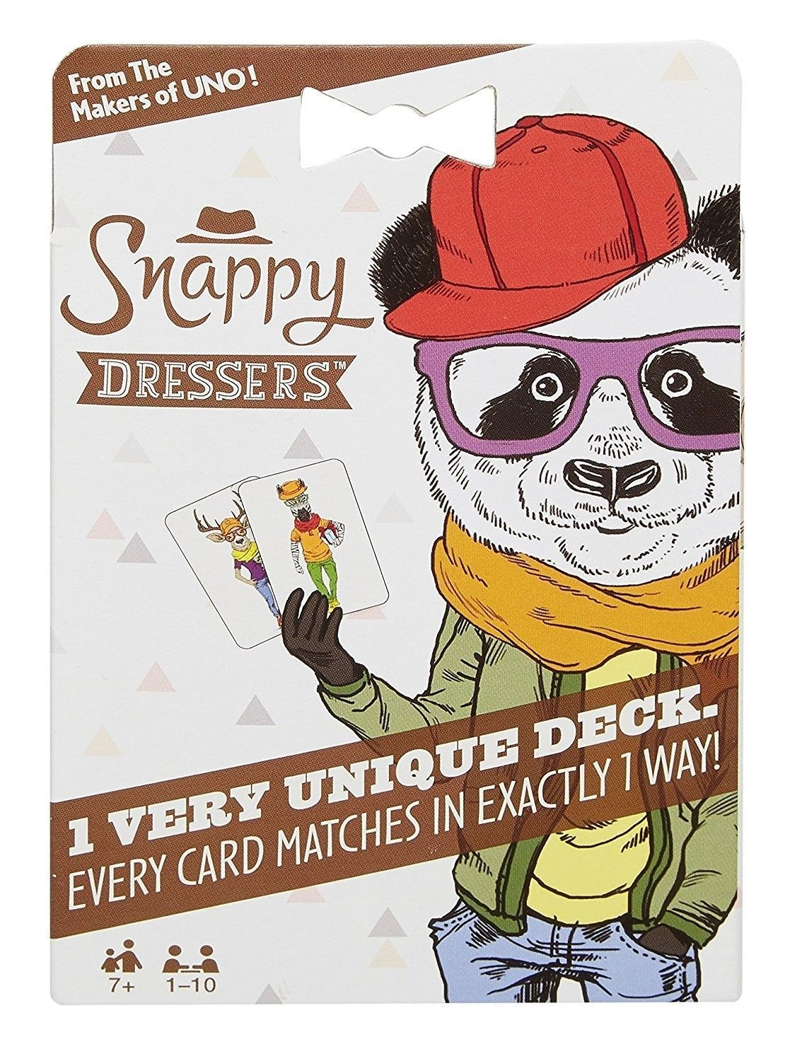 Snappy Dressers Card Game From the makers of UNO Card