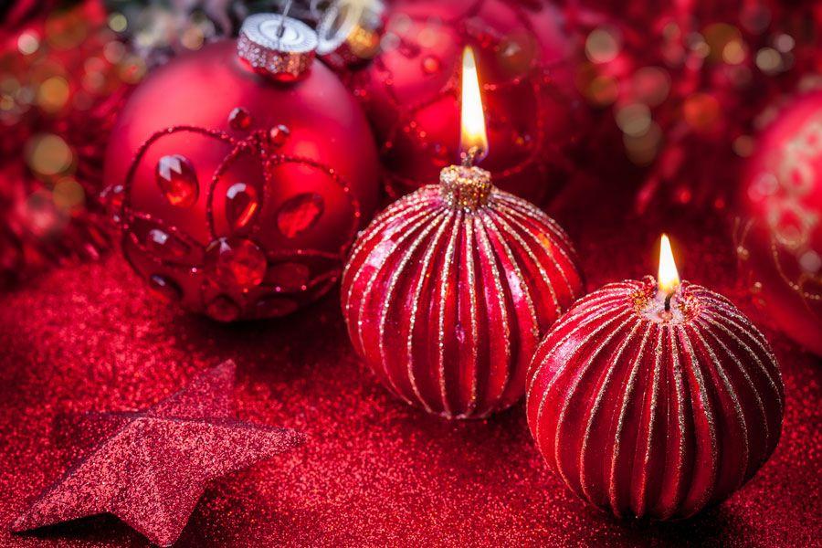 C mo decorar con velas el ambiente de la cena de navidad y - Ideas cenas de navidad ...