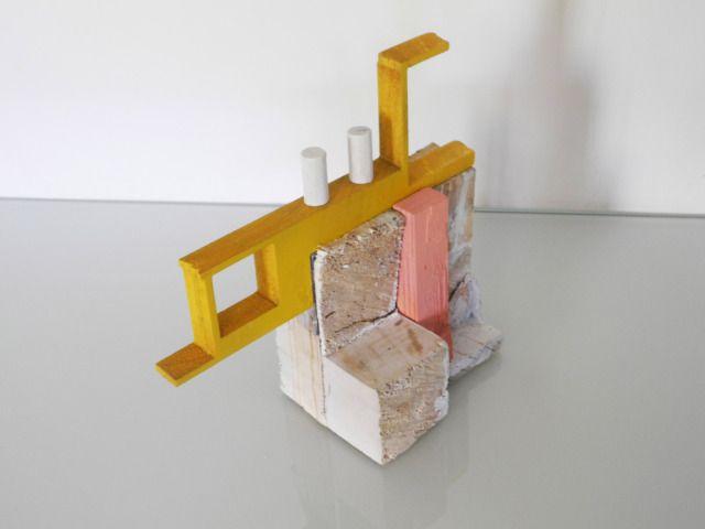 Gio Schiano Decor Architecture Model Modern Sculpture