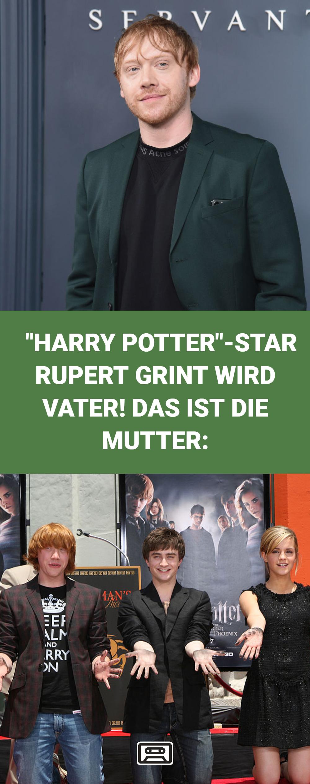 Harry Potter Star Rupert Grint Ron Weasley Wird Vater Der 31 Jahrige Und Seine Freundin Georgia Groome Erwarten I Vater Klatsch Und Tratsch Schauspieler