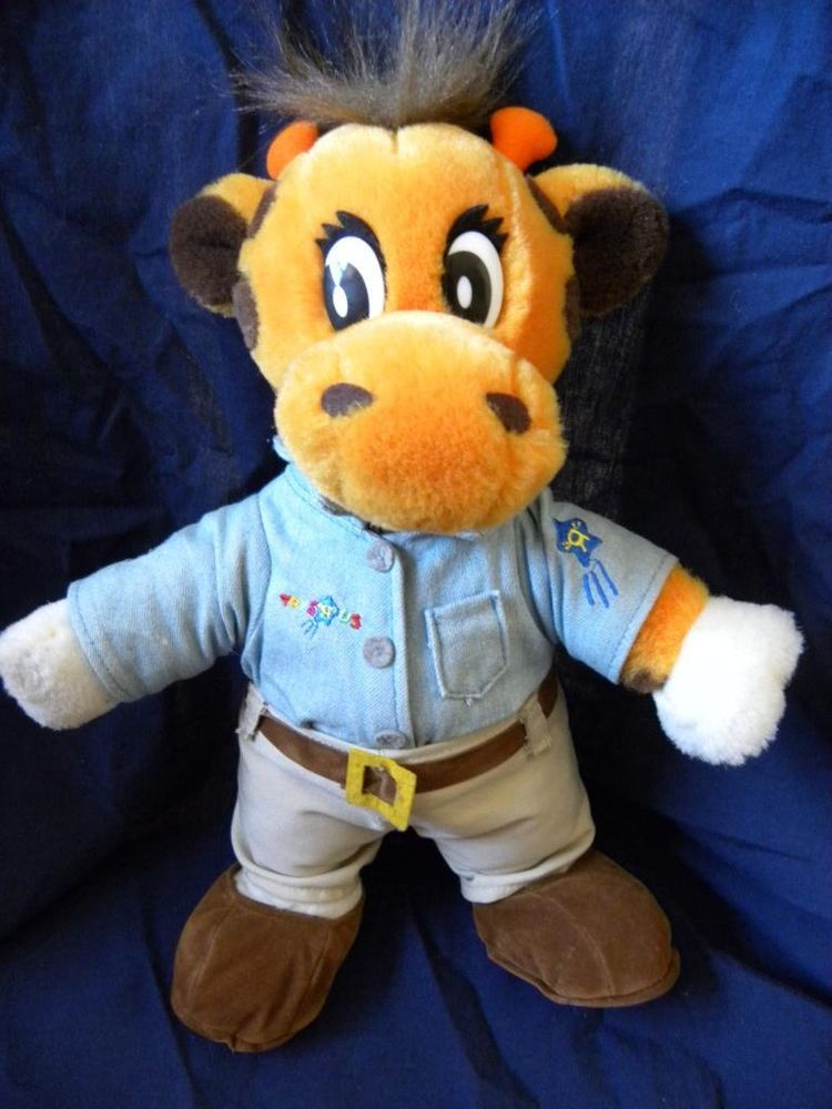 TOYS R US GEOFFREY JEFFREY GIRAFFE PLUSH SOFT TOY STUFFED ANIMAL #ToysRUs