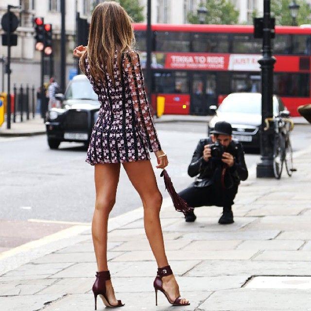 #london #day1 #lfw #streetstyle #wearing #marykatrantzou